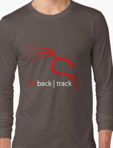 Backtrack Linux Hacker Tees Long Sleeve T-Shirt