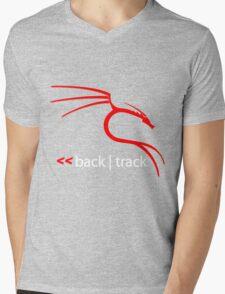 Backtrack Linux Hacker Tees Mens V-Neck T-Shirt