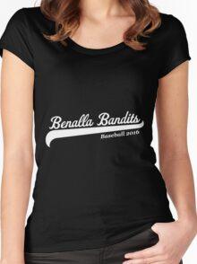 Benalla Bandits Baseball Women's Fitted Scoop T-Shirt