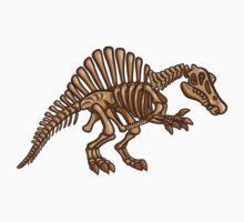 Extinct Lil' Spinosaurus One Piece - Short Sleeve