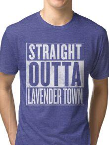 Straight Outta Lavender Town Tri-blend T-Shirt