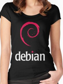 Debian Linux Tees Women's Fitted Scoop T-Shirt