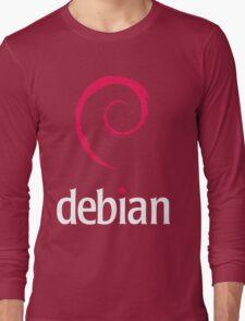 Debian Linux Tees Long Sleeve T-Shirt