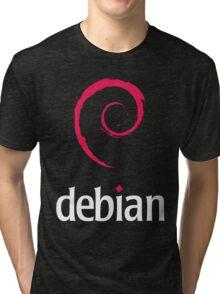 Debian Linux Tees Tri-blend T-Shirt