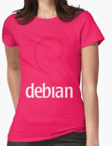 Debian Linux Tees Womens Fitted T-Shirt