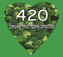 Smoke that Broccoli. by TheJollyLlama