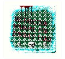 zombies land Art Print