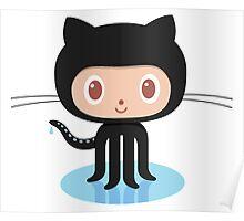 Github Social Coding Tees Poster
