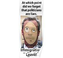 Farage's Garbage. Poster