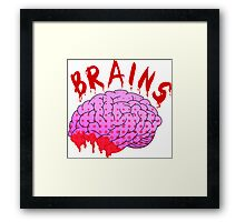Bloody Brains - Light Framed Print