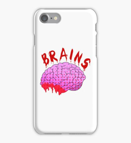 Bloody Brains - Light iPhone Case/Skin