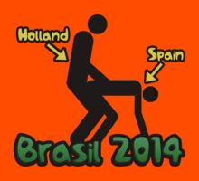 Holland vs Spain Brasil world cup football 2014 by MalcolmWest