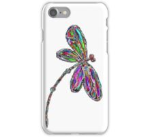 Neon Dragonfly  iPhone Case/Skin
