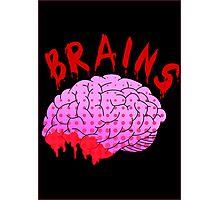 Bloody Brains - Dark Photographic Print