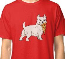 Westie Pizza Classic T-Shirt
