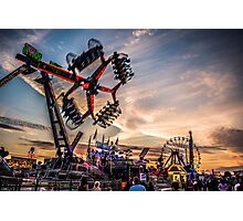 Town moor hoppings 2016 Photographic Print