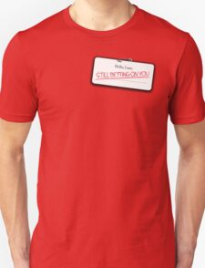 Cinna's name tag T-Shirt