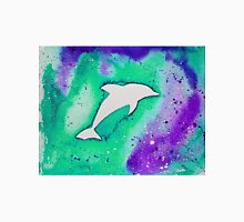 Dolphin in green Unisex T-Shirt