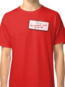 Hermione's name tag Classic T-Shirt