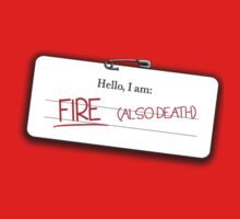 Smaug's name tag by JustSoBlonde