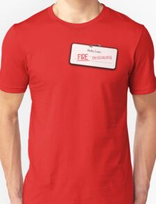 Smaug's name tag T-Shirt