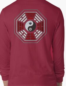 star wars yin yang version 4  Long Sleeve T-Shirt