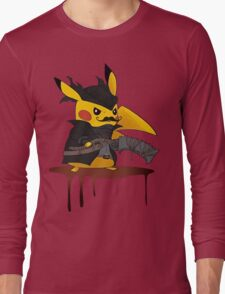 BloodBorne: Special Pikachu Edition Long Sleeve T-Shirt