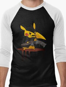 BloodBorne: Special Pikachu Edition Men's Baseball ¾ T-Shirt