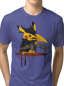 BloodBorne: Special Pikachu Edition Tri-blend T-Shirt