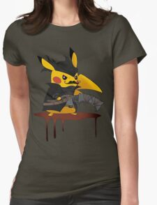 BloodBorne: Special Pikachu Edition Womens Fitted T-Shirt
