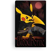 BloodBorne: Special Pikachu Edition Canvas Print