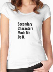 Scott Pilgrims Finest Words  Women's Fitted Scoop T-Shirt