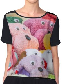 teddy bears Chiffon Top
