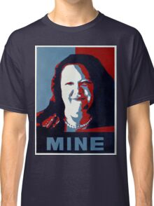 "Gina Minehard ""The Audacity of Mine"" Classic T-Shirt"