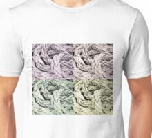 Pop art nautical rope Unisex T-Shirt