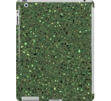 Speckled Computer Circuit Board Pattern Texture Background iPad Case/Skin