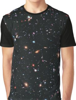 Hubble Extreme Deep Field Image of Outer Space Graphic T-Shirt