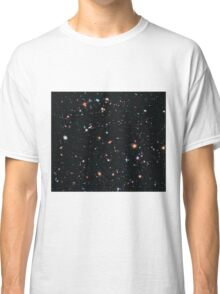 Hubble Extreme Deep Field Image of Outer Space Classic T-Shirt