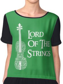 Lord of the Strings Chiffon Top