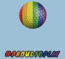ProudToPlay - Golf Kids Tee