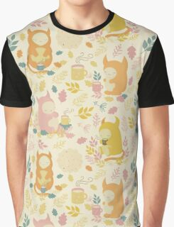 Fairytale Pattern Graphic T-Shirt