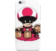 Evil Toad  iPhone Case/Skin