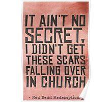 It Ain't No Secret... Poster