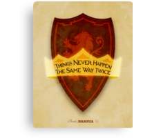 Chronicles of Narnia Illustration Canvas Print