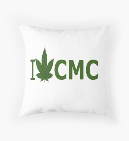 I Love CMC Throw Pillow