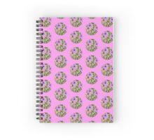 Sunflowers - Pink Spiral Notebook