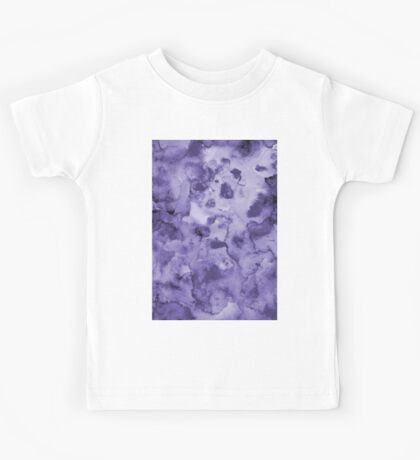 Ink watercolor texture Kids Tee
