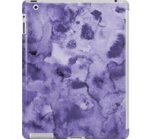 Ink watercolor texture iPad Case/Skin