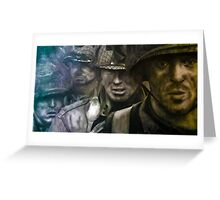 Band of Brothers drawing  Greeting Card