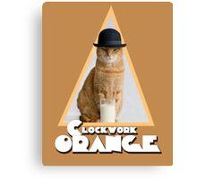 A Clockwork Orange (Cat) Canvas Print